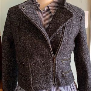 Banana Republic biker style warm jacket, Petite 4